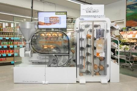 Breadbot maakt automatisch brood