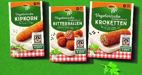 Mora Vegetarische Slager nu in groene verpakking