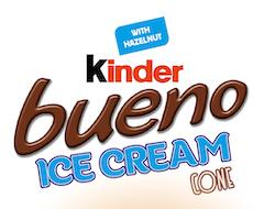 Kinder Bueno nu ook verkrijgbaar als ijs