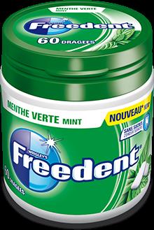Drie nieuwe kauwgomsmaken van Freedent