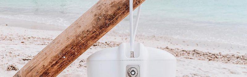 Safego autokluis aan het strand